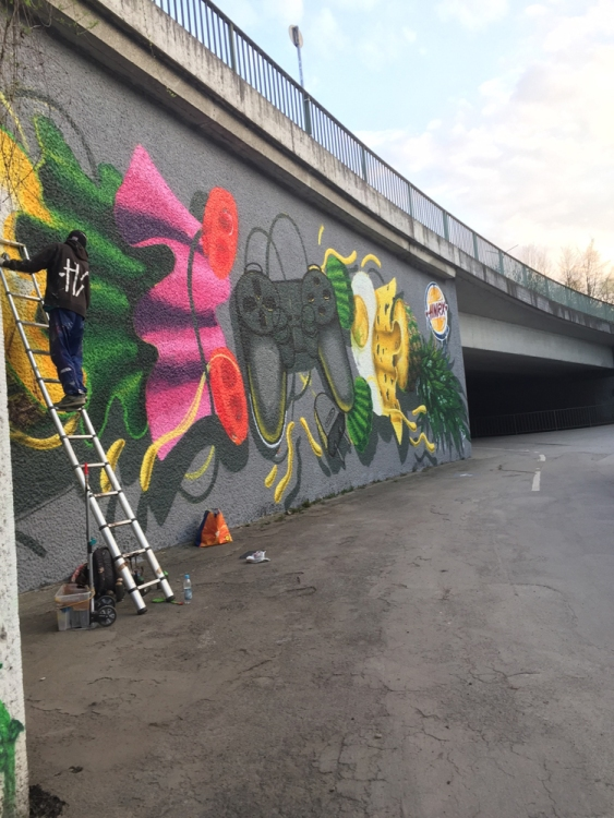 Munich Artists Munich street art HNRX April 201612991900_1011003898954757_1665111521_o