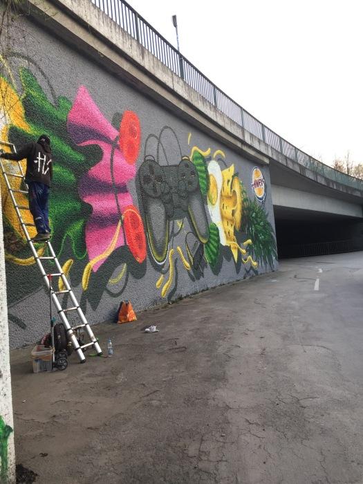 Munich Artists Munich street art HNRX April 201613010109_1011003768954770_1183743358_o