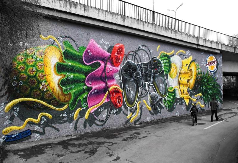 Munich Artists Munich street art HNRX April 2016IMG_2988 (1)