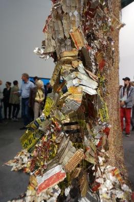 Art Basel 2016 - El Anatsui - photo by Emmy Horstkamp