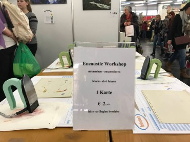 Encaustic card Workshop