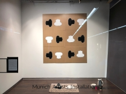 Perfect Cup of Coffee Installation for Munich Artists Window installations