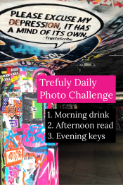 Morning Drink Afternoon read Evening Keys
