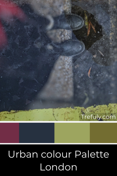 Trefuly Urban Colour Palette - London