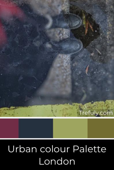 Trefuly Urban Colour Palette - London
